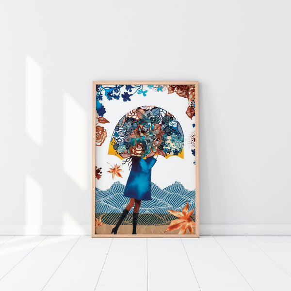 Art Print - Umbrella Love (unframed)