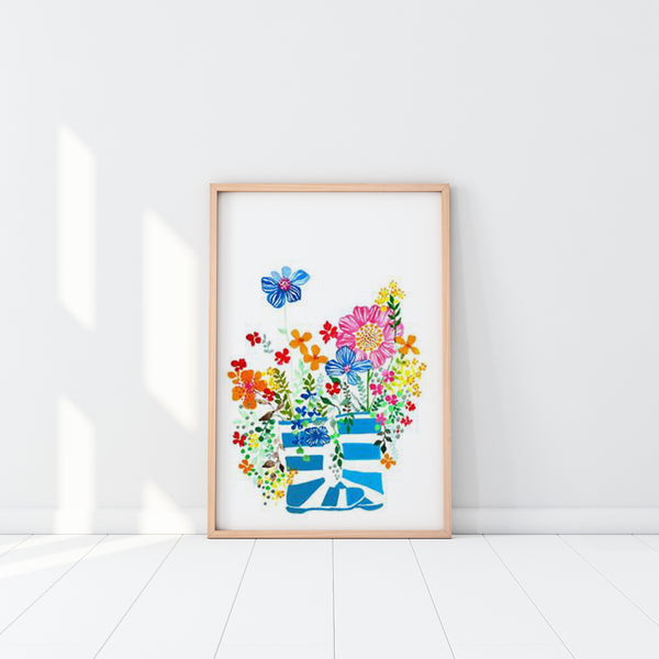 Art Print - Wildflowers (unframed)