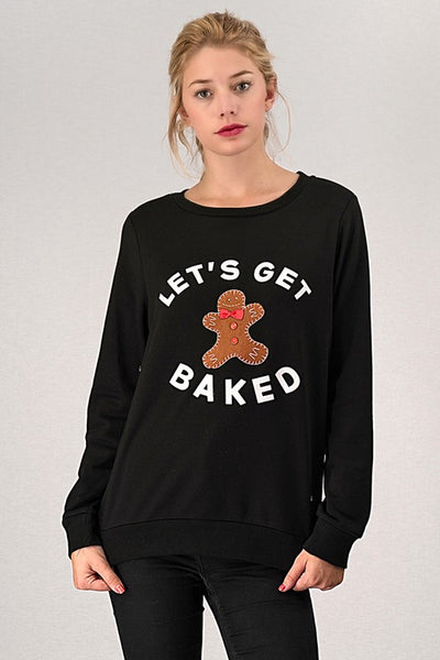 Baked Holiday Sweater