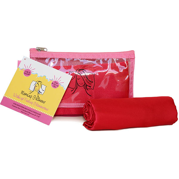 Red Travel Bag Pillowcase Set