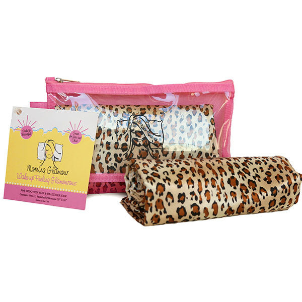 Leopard Travel Bag Pillowcase Set