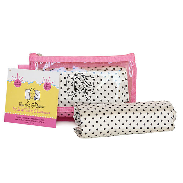 Dot Travel Bag Pillowcase Set