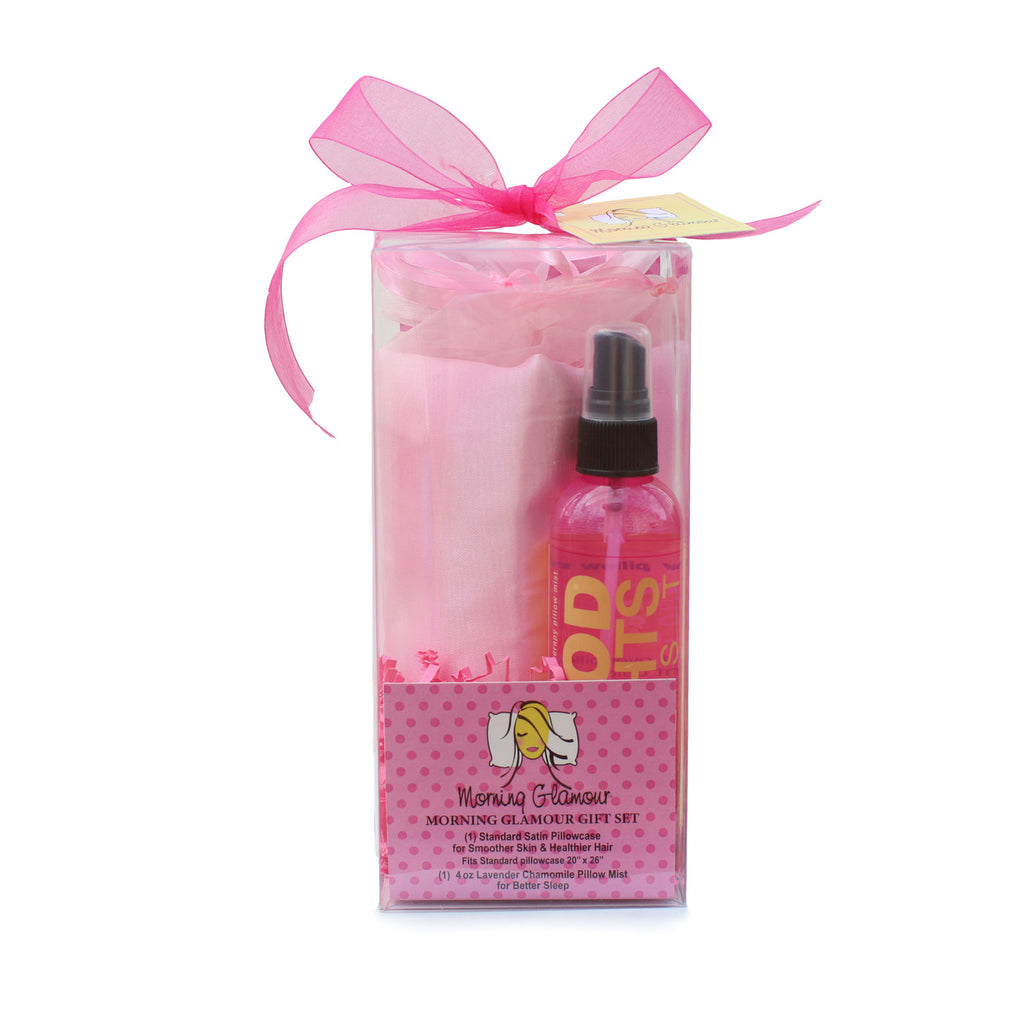 MORNING GLAMOUR GIFT SET PINK