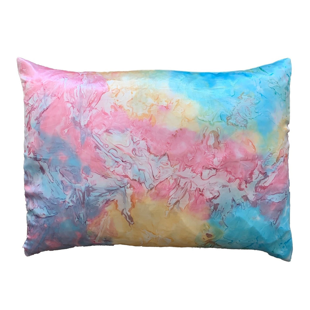 RAINBOW TIEDYE Satin Pillowcase 2 Pack