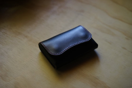 No 3 Card Wallet - 'Swan'