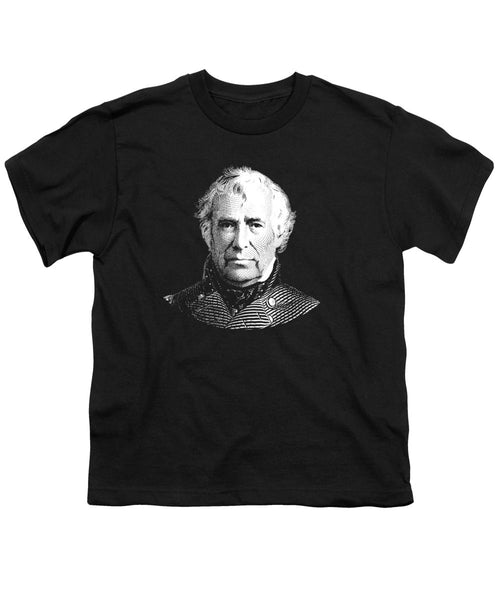 President Zachary Taylor Graphic - Youth T-Shirt