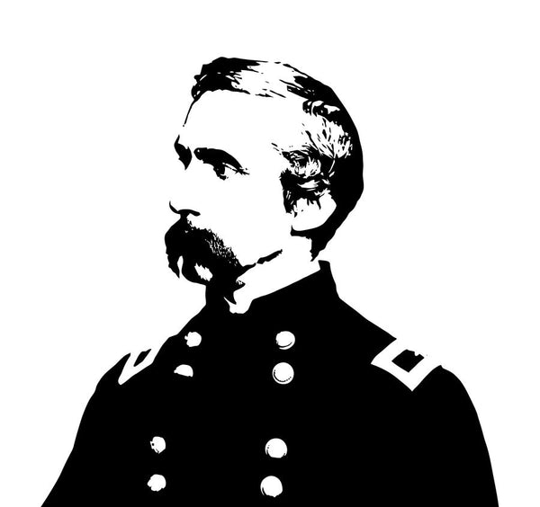 Joshua Chamberlain Black and White
