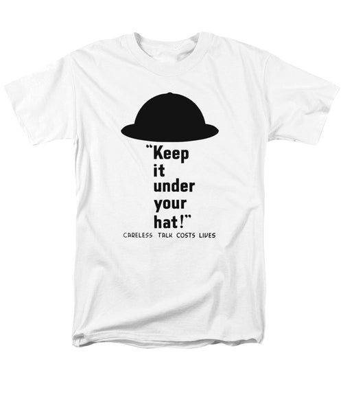 Careless Talk Costs Lives - Men's T-Shirt  (Regular Fit)