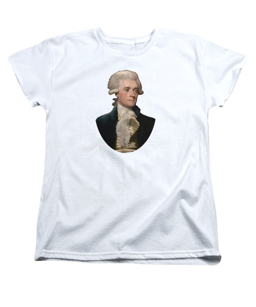 Thomas Jefferson - By Mather Brown - Women's T-Shirt (Standard Fit)