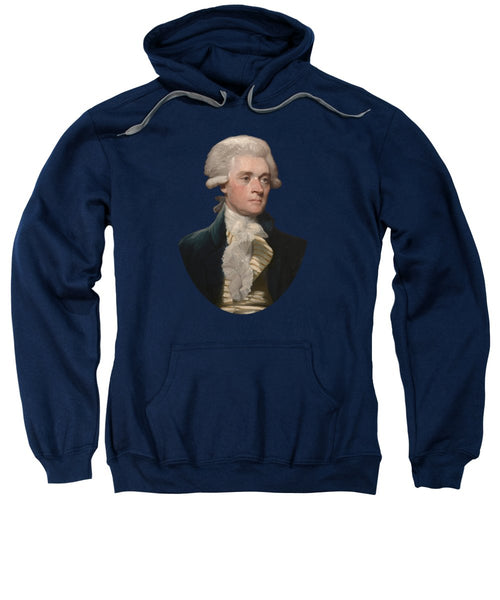 Thomas Jefferson - By Mather Brown - Sweatshirt