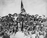 President Theodore Roosevelt and Rough  Riders