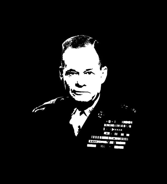General Lewis ''chesty'' Puller in uniform