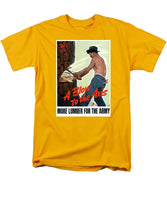 A Blow To The Axis - Ww2 - Men's T-Shirt  (Regular Fit)