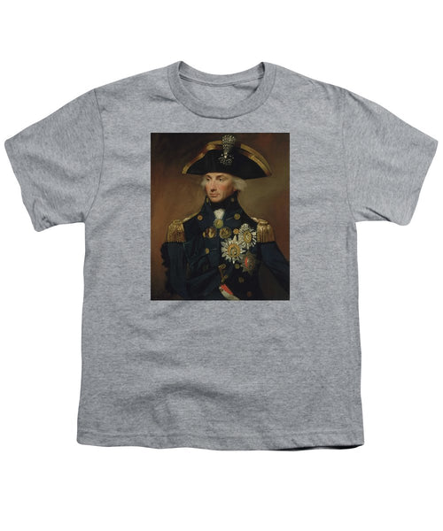 Admiral Horatio Nelson - Youth T-Shirt