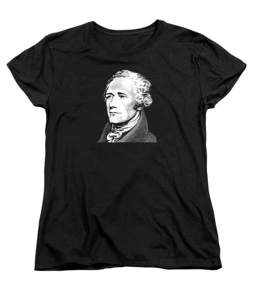 Alexander Hamilton - Founding Father Graphic 2 - Women's T-Shirt (Standard Fit)