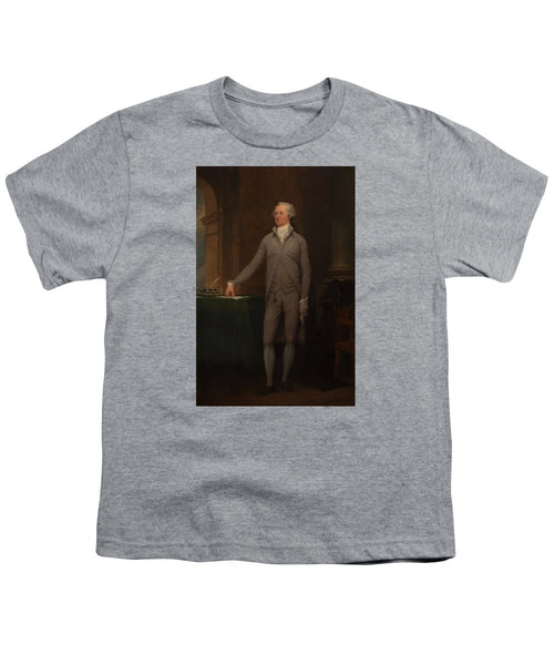 Alexander Hamilton Full-length Portrait - Youth T-Shirt