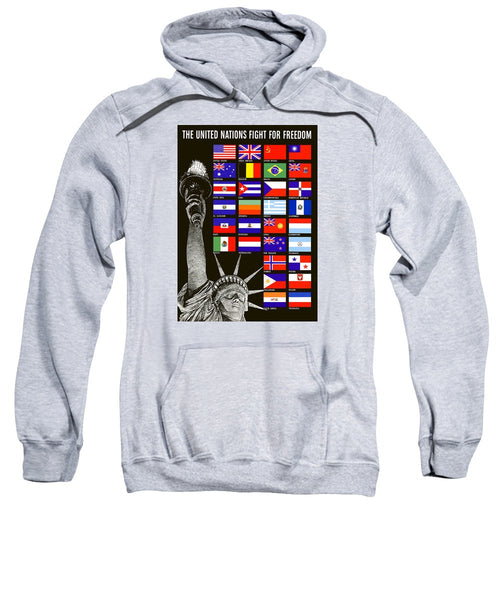 Allied Nations Fight For Freedom - Sweatshirt