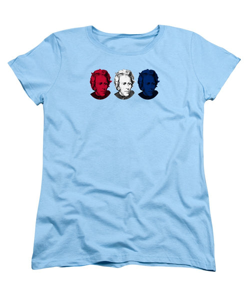Andrew Jackson Red White And Blue - Women's T-Shirt (Standard Fit)