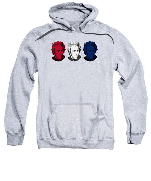 Andrew Jackson Red White And Blue - Sweatshirt