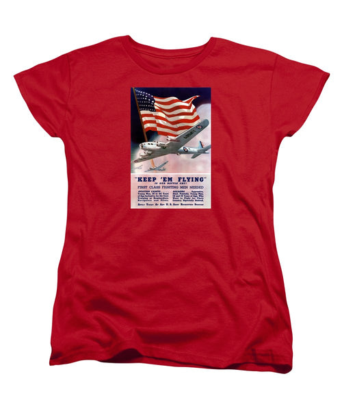 Army Air Corps Recruiting Poster - Women's T-Shirt (Standard Fit)