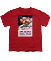 Army Air Corps Recruiting Poster - Youth T-Shirt