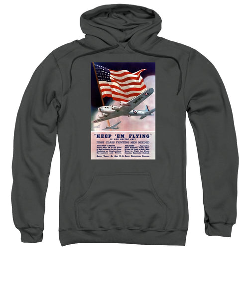 Army Air Corps Recruiting Poster - Sweatshirt