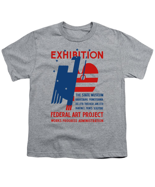 Art Exhibition The State Museum Harrisburg Pennsylvania - Youth T-Shirt
