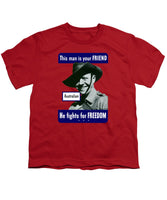 Australian - This Man Is Your Friend - Youth T-Shirt