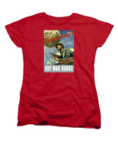 Back The Attack - Buy War Bonds - Women's T-Shirt (Standard Fit)