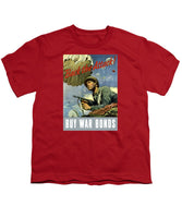 Back The Attack - Buy War Bonds - Youth T-Shirt