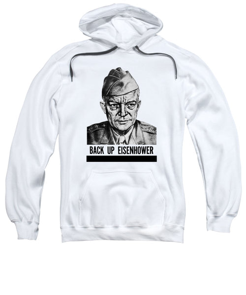 Back Up Eisenhower - WW2 - Sweatshirt