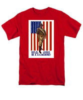 Be A U.S. Marine - Men's T-Shirt  (Regular Fit)