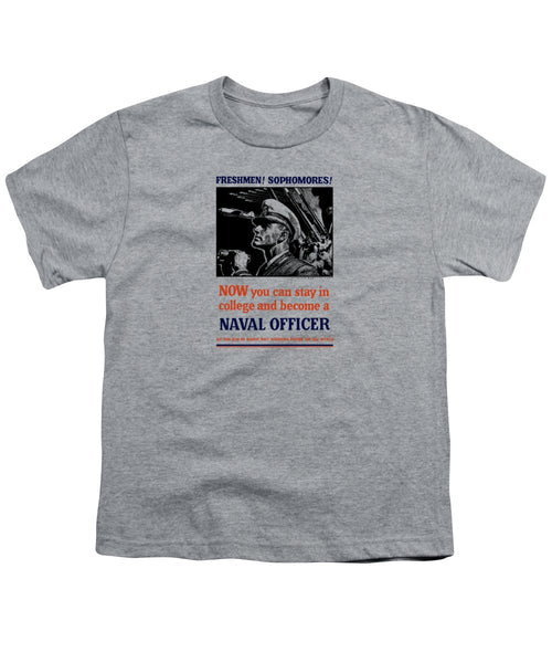 Become A Naval Officer - Youth T-Shirt