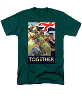 British Empire Soldiers Together - Men's T-Shirt  (Regular Fit)