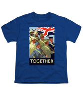 British Empire Soldiers Together - Youth T-Shirt