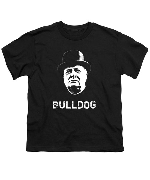Bulldog - Winston Churchill - Youth T-Shirt