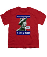 Canadian - This Man Is Your Friend - Youth T-Shirt