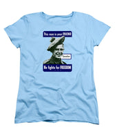 Canadian - This Man Is Your Friend - Women's T-Shirt (Standard Fit)