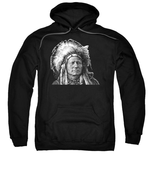 Chief Running Antelope - Native American History - Sweatshirt