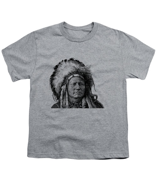 Chief Running Antelope - Youth T-Shirt