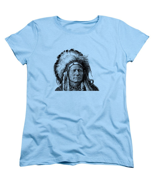 Chief Running Antelope - Women's T-Shirt (Standard Fit)