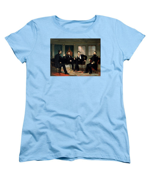 Civil War Union Leaders -- The Peacemakers - Women's T-Shirt (Standard Fit)