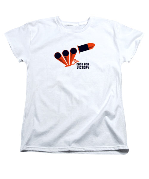 Code For Victory - WW2 - Women's T-Shirt (Standard Fit)