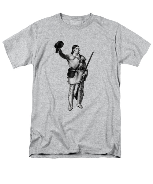 Colonel Davy Crockett - Men's T-Shirt  (Regular Fit)