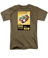 Dig For Victory Now - Men's T-Shirt  (Regular Fit)