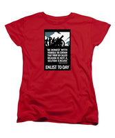 Enlist To-day - Lord Kitchener  - Women's T-Shirt (Standard Fit)