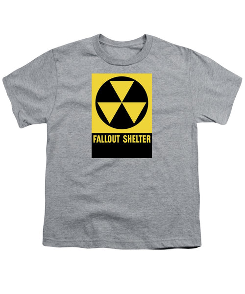 Fallout Shelter Sign - Youth T-Shirt