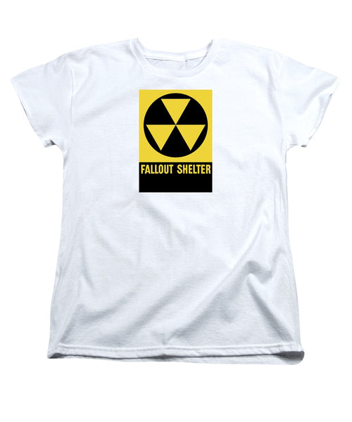 Fallout Shelter Sign - Women's T-Shirt (Standard Fit)