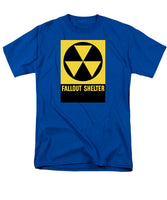 Fallout Shelter Sign - Men's T-Shirt  (Regular Fit)