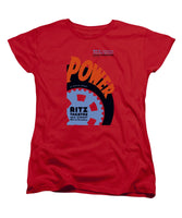 Federal Theatre Project Presents - Power - WPA - Women's T-Shirt (Standard Fit)